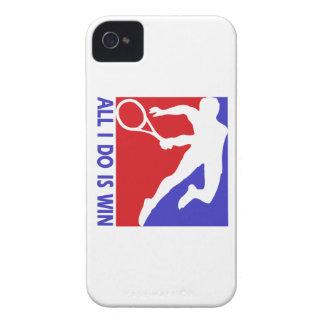 Cool Rhythmic lawn tennis designs Case-Mate iPhone 4 Case