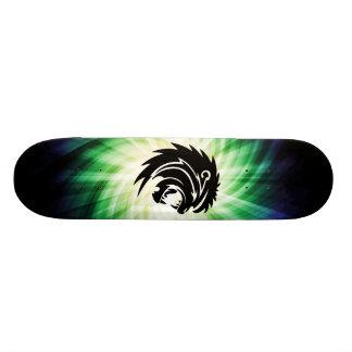 Cool Roaring Lion Silhouette Skateboard Decks