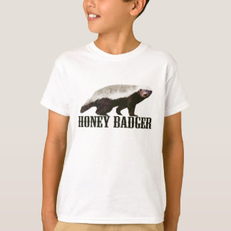 Cool Rustic Honey Badger T-Shirt