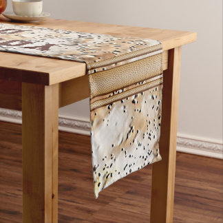 Cool Rustic Table Runner with Your Text or Delete