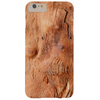 Cool Rustic Wood Texture Look - Manly Pattern Barely There iPhone 6 Plus Case