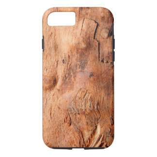 Cool Rustic Wood Texture Look Pattern iPhone 7 Case