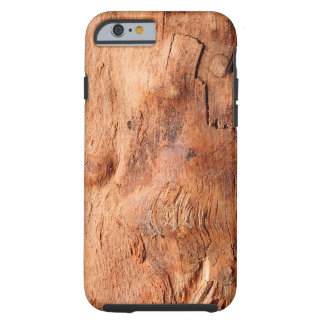 Cool Rustic Wood Texture Look Pattern Tough iPhone 6 Case