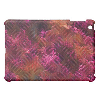 Cool Rusty Metal iPad Cover pink