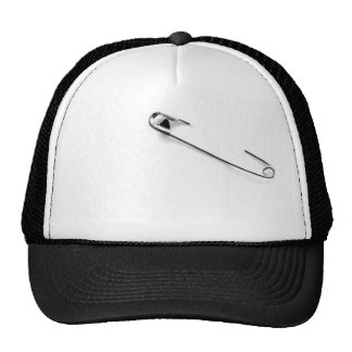 Cool Safety Pin Cap Trucker Hat