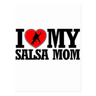 cool Salsa  mom designs Postcard