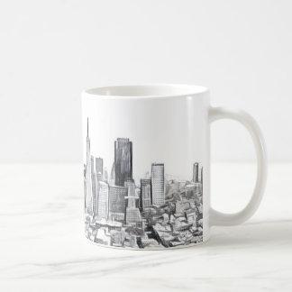 Cool San Francisco SF Citiscape Coffee Mug