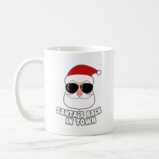Cool Santa's Back In Town Coffee Mug