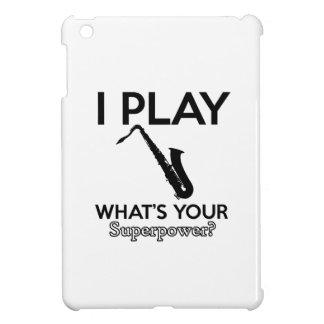 cool saxophone designs iPad mini case