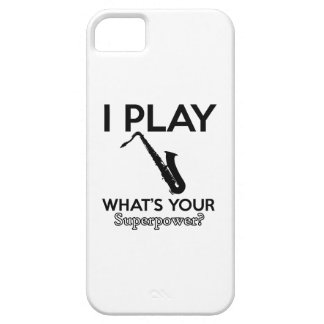 cool saxophone designs iPhone 5 covers