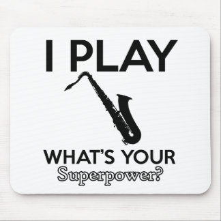 cool saxophone designs mouse pad