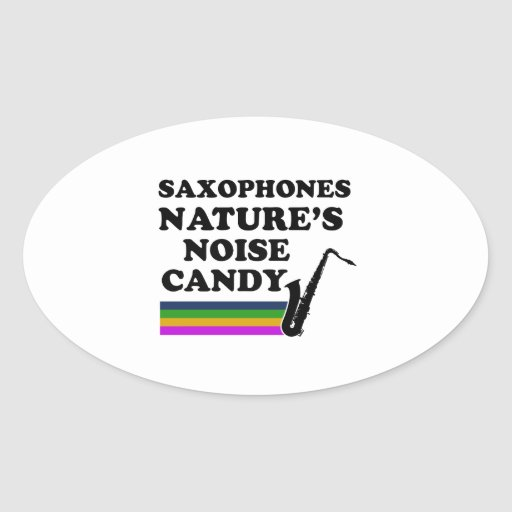 Cool saxophone musical instrument designs stickers