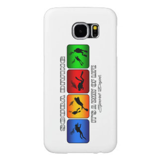 Cool Scuba Diving It Is A Way Of Life Samsung Galaxy S6 Cases