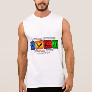 Cool Scuba Diving It Is A Way Of Life Sleeveless Shirt