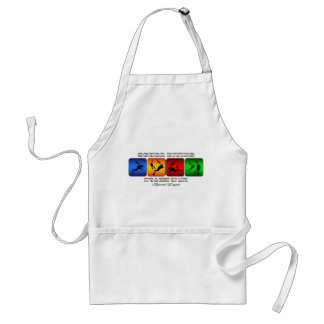 Cool Scuba Diving It Is A Way Of Life Standard Apron