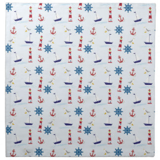 Cool Sea Symbols Napkin