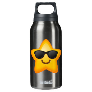 Cool Shades Emoji Star Insulated Water Bottle