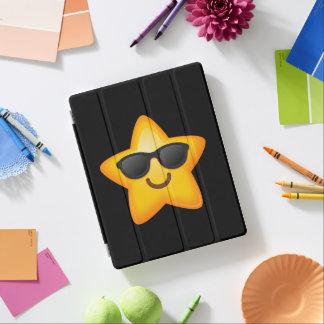 Cool Shades Emoji Star iPad Cover
