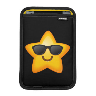 Cool Shades Emoji Star iPad Mini Sleeve