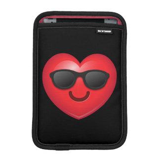 Cool Shades Heart Emoji iPad Mini Sleeves