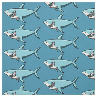 Cool Shark custom fabric