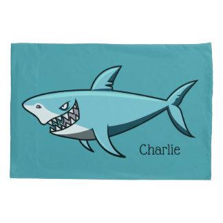 Cool Shark custom name pillowcases