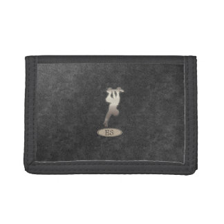 Cool Shiny Skater Logo Personalized  Wallet