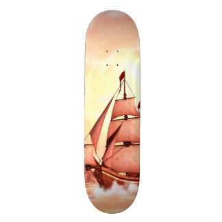 Cool ship custom skate board