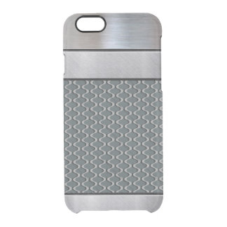 Cool Silver 3D Pattern iPhone Case