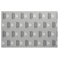 Cool Silver Grey Boat Sailing Pattern Grey