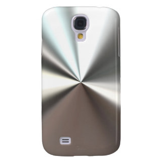 Cool Silver Metal Look Samsung Galaxy S4 Case