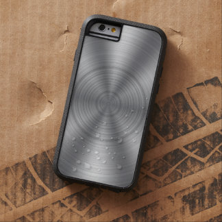 Cool Silver Metallic Look Tough Xtreme iPhone 6 Case