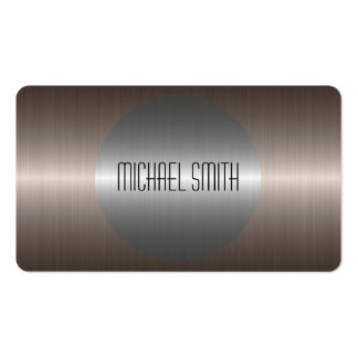 Cool Silver Stainless Steel Metal Business Card