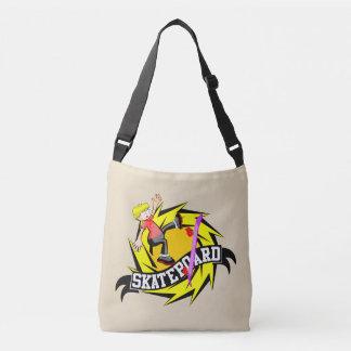Cool Skateboard Crossbody Bag