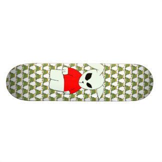 Cool Skateboard - Frog and Rabbit