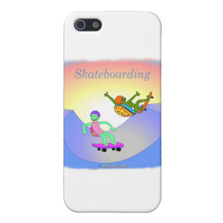 Cool skateboarding gifts for kids iPhone 5 cover