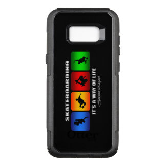 Cool Skateboarding It Is A Way Of Life OtterBox Commuter Samsung Galaxy S8+ Case