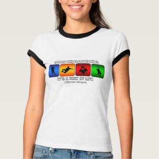 Cool Skateboarding It Is A Way Of Life T-Shirt