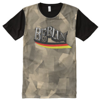 Cool Skater T-shirt Berlin with abstract sample