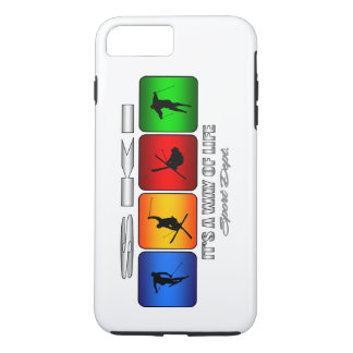 Cool Ski It Is A Way Of Life iPhone 8 Plus/7 Plus Case