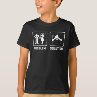 Cool ski jumping lover problem gifts T-Shirt