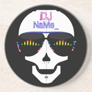 Cool Skull DJ - Customized Coaster