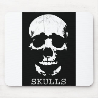 COOL SKULL MOUSE PAD