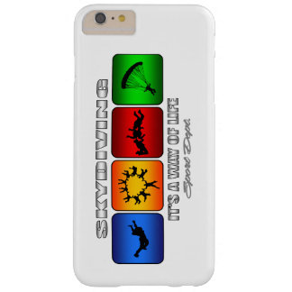 Cool Skydiving It Is A Way Of Life Barely There iPhone 6 Plus Case