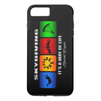 Cool Skydiving It Is A Way Of Life iPhone 8 Plus/7 Plus Case