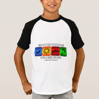 Cool Skydiving It Is A Way Of Life T-Shirt