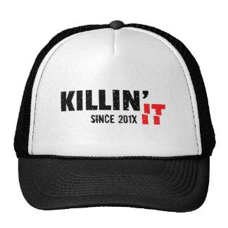 Cool Slang Killin It Since Black Grunge Cool Trucker Hat