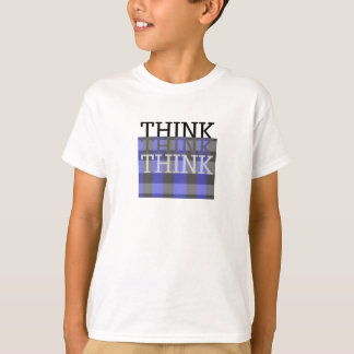 Cool Smart Kids Think Think Think Shirt