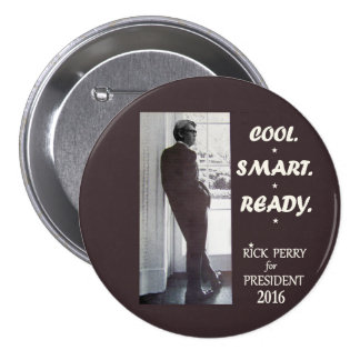 Cool. Smart. Ready. 3 Inch Round Button