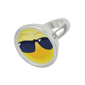 COOL SMILEY  FACE RINGS